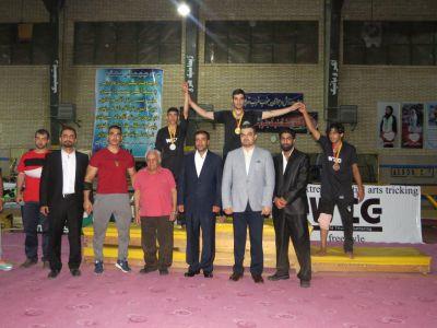 مسابقات رسمي تريكينگ زير نظر فدراسيون ورزشهاي رزمي
