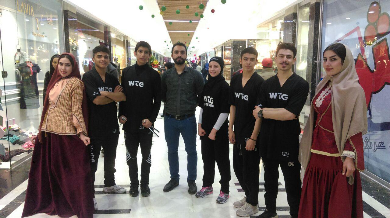 افتتاحیه عرش آجودانیه با اجرای گروه تریکینگ تهران
