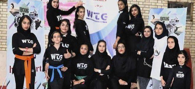 تریکینگ بانوان بوشهر