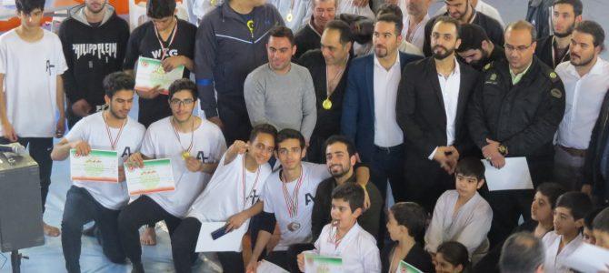 درخشش تیم تریکینگ تهران در مسابقات هنرهای فردی نمایشی استان تهران