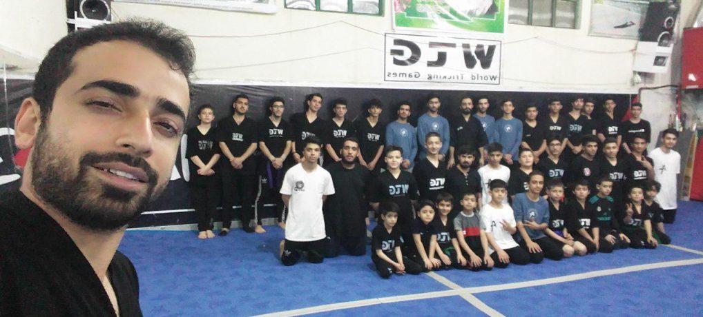 هنرهای رزمی نمایشی تریکینگ تهران