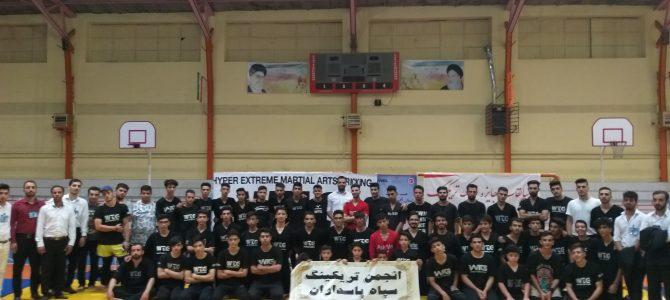 مسابقات شمال غرب تریکینگ ایران با حضور انجمن تریکینگ سپاه