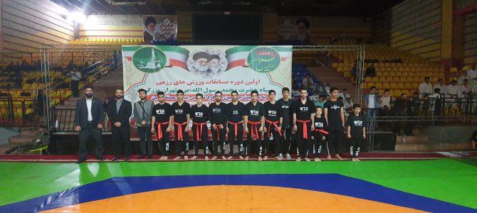 برترین تیم ورزشی رزمی سازمان تربیت بدنی سپاه محمد رسول الله (ص)