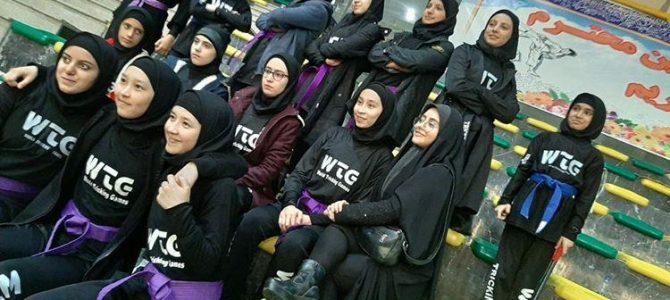 حضور تیم تریکینگ بانوان تهران در سری مسابقات استانی بسیج