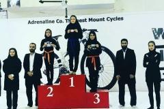 اولین مسابقات رسمی کشوری تریکینگ بانوان اصفهان با حضور شرکت دوچرخه کوهستانی آدرنالین