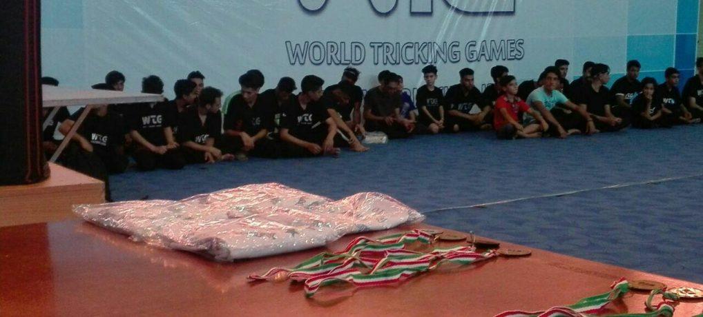 ادیت جدید از اولین مسابقات رنکینگ حرفه ای تریکینگ ایران