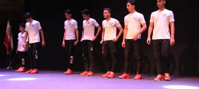 اجرای تیم تریکینگ اصفهان در مرکز همایشهای بین المللی سیتی سنتر اصفهان