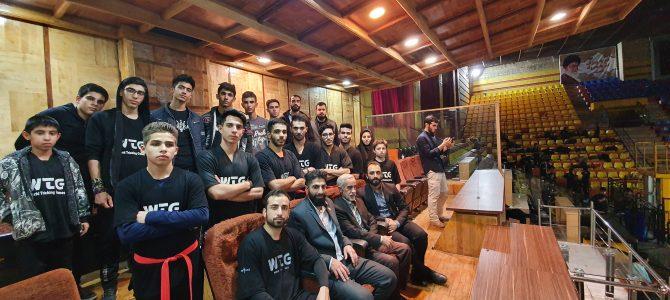 تجلیل ویژه توسط معاون سازمان تربیت بدنی سپاه از حضور تیم تریکینگ تهران در این دوره رقابتها
