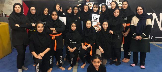 مسابقات برترین تریکرهای بانوان استان تهران