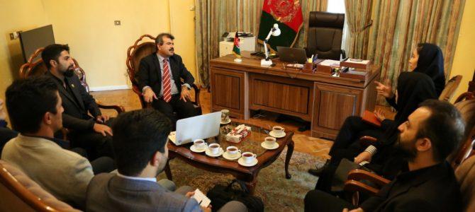 جلسه همکاری با سفیر محترم افغانستان